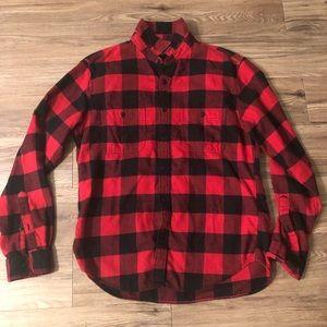 J crew Buffalo Check Shirt